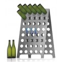 STAINLESS STEEL RIDDLING RACKS 120 BOTTLES