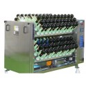 RIDDLING MACHINE FOR SPARKLING WINES FILLED BOTTLE STAINLESS STEEL CHASSIS