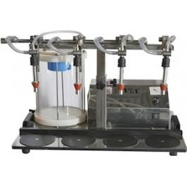 VACUUM BOTTLE FILLER MODEL 4B FOR WINE BOTTLING
