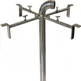 EXTENSIBLE STAINLESS EXTENSIBLE BRACKETS INOX