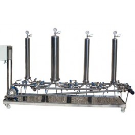 MULTI STAGE FILTRATION SYSTEM HOUSING FILTER