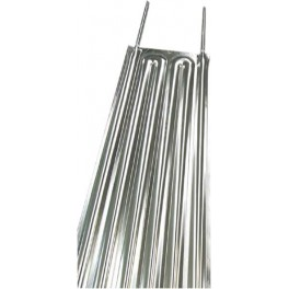 STAINLESS STEEL EXCHANGE PLATE MODEL 1400 x 370 mm