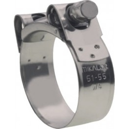 SUPRA W4 CLAMP  150 - 162 STAINLESS HIGH PRESSURE