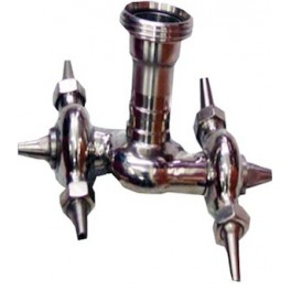 DOUBLE SWIVEL ROTATING CLEARING HEAD