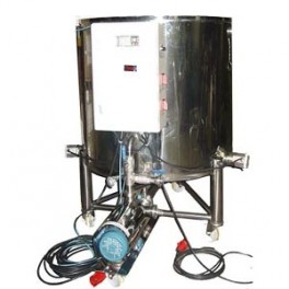 MIXER TANK WITH PUMP AND HEATER 600 LITERS