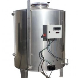 ISOTHERMAL TANK 1.500 LITERS FOR WATER HEATING
