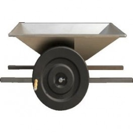 CRUSHER HAND OPERATED  STAINLESS STEEL HOPPER
