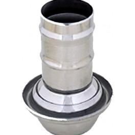 1/2 MANCHON ROTULE MÂLE ANNEAU 150 CHEVRONS DE 150 mm
