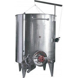 3.000 LITER INOX TANK ALWAYS FULL CONICAL FUND