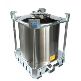 STACKABLE 750 LITERS AISI 304 STAINLESS STEEL COLD-ROLLED  TANK