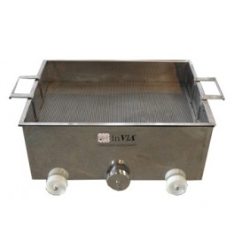 INOX CUBE TANK STANDARD MODEL 800 x 600 x 320 mm WITH GRILLE 380 LITERS