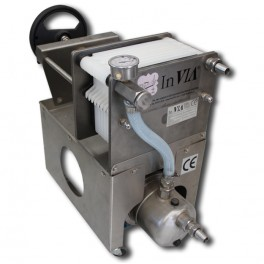 FILTER AMATEUR INOX 10 PLATES WITH PUMP