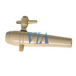 WOODEN TAP WITHOUT THREAD FOR BARREL 2 CM