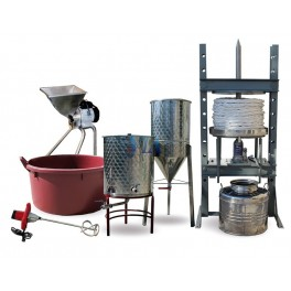 COMPLETE EQUIPMENT TO MAKE TRADITIONAL OLIVE OIL