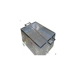 STANDARD INOX CUBE 800 x 600 x 320 mm WITHOUT GRID 380 LITERS
