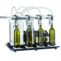 VACUUM BOTTLE FILLER MODEL 4B FOR OLIVE OIL BOTTLING