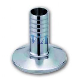 "1/2 MANCHON ACIER INOXYDABLE 304 CLAMP 1 1/4"" CHEVRONS 40 MM"