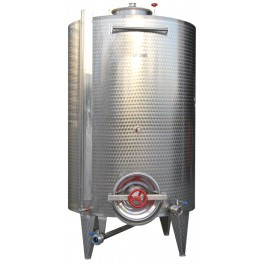 STANDARD INOX TANK 2.000 LITERS TOP BOCA FLOOR