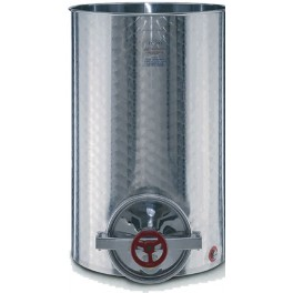 SMALL INOX TANK 200 WITH LOWER MOUTH