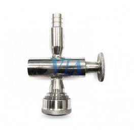 LEVEL TAP FOR GLASS TUBE